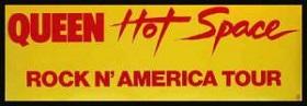 Hot Space Tour concert tour