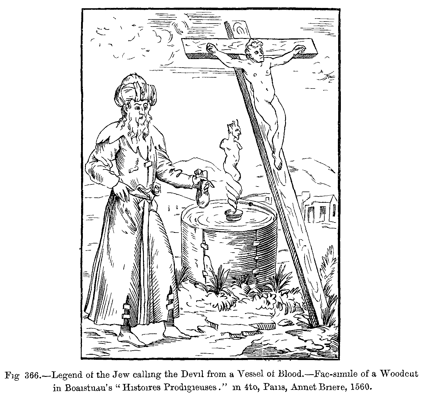 File:Legend of the Jew calling the Devil from a Vessel of