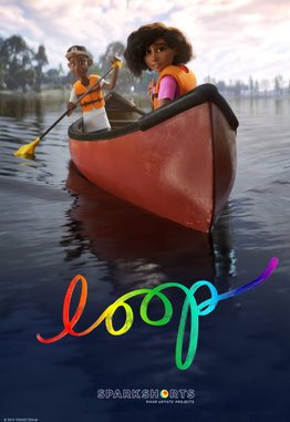 An image of the Loop film poster
