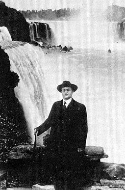 "Max Heindel, a photograph by the ""Iguazu Falls"" in Misiones, Argentina"