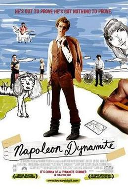 Film poster for Napoleon Dynamite - Copyright ...