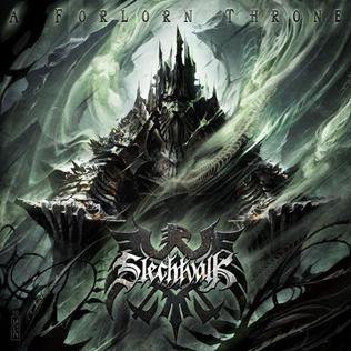 <i>A Forlorn Throne</i> 2010 studio album by Slechtvalk