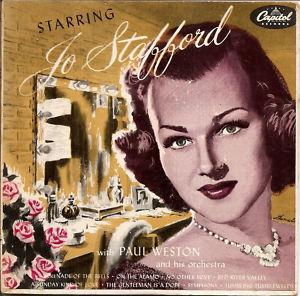 <i>Starring Jo Stafford</i> 1953 studio album by Jo Stafford