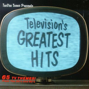 <i>Televisions Greatest Hits: 65 TV Themes! From the 50s and 60s</i> 1985 compilation album by Various