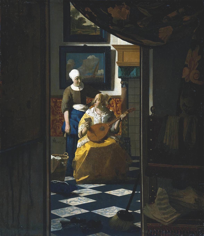 File:The Love Letter Vermeer jpg - Wikipedia