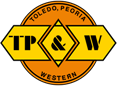 Toledo, Peoria and Western Railway short-line railroad in Illinois & Indiana