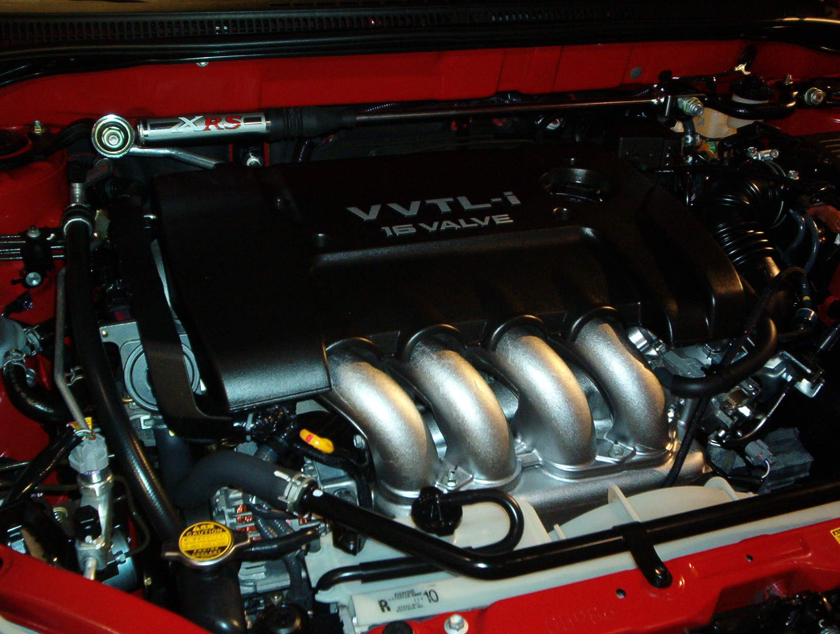 The 2ZZ-GE engine, the first to feature VVTL-i