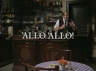 Picture of a TV show: 'allo 'allo!