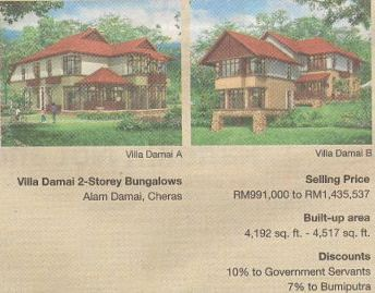 Under the NEP, Bumiputra real estate purchases were subsidised.