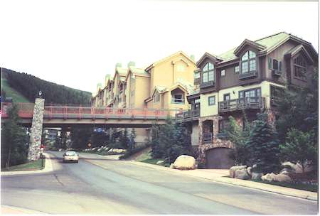 View at the Beaver Creek Village.