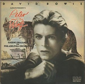 <i>David Bowie Narrates Prokofievs Peter and the Wolf</i> 1978 studio album by David Bowie with the Philadelphia Orchestra