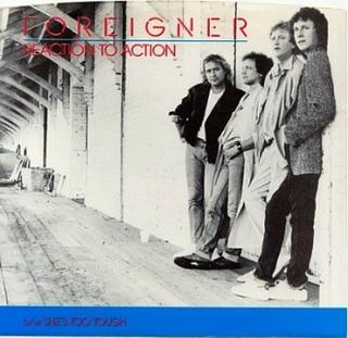 Reaction to Action 1985 single by Foreigner