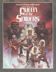 Cover of GDQ1-7 Queen of the Spiders