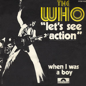 Lets See Action 1971 single by The Who