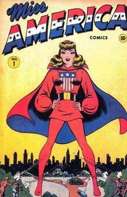 """Résultat de recherche d'images pour """"miss america comics 1"""""""