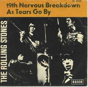 19th Nervous Breakdown original song written and composed by Jagger/Richards; first recorded by The Rolling Stones