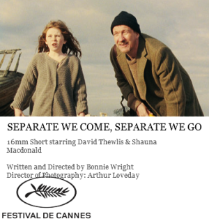 <i>Separate We Come, Separate We Go</i> 2012 film by Bonnie Wright