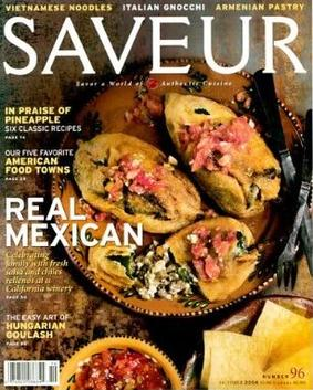 SAVEUR SAVOR A WORLD OF AUTHENTIC CUISINE MAGAZINE #53 (FN)