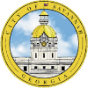 Official seal of Savannah, Georgia