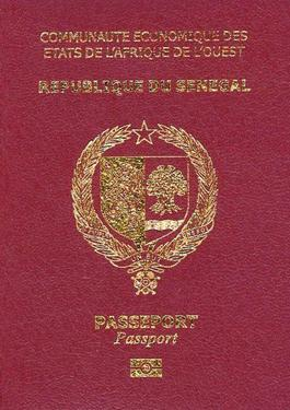 Senegalese Passport Wikipedia