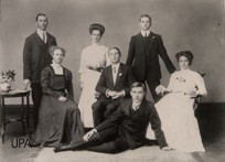 The University of Pretoria's first student council in 1909