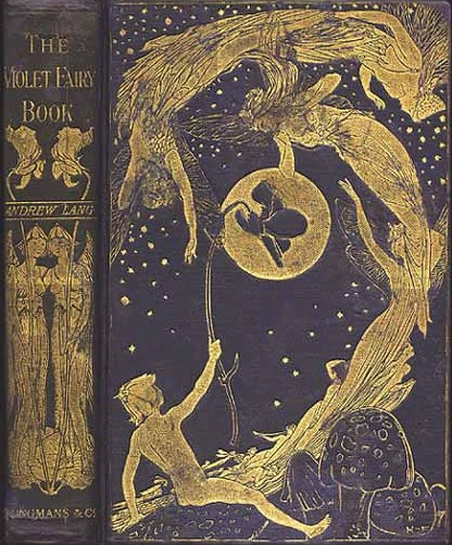 Andrew Lang Fairy Book Cover. free Ebook download.