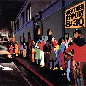 <i>8:30</i> 1979 live album by Weather Report