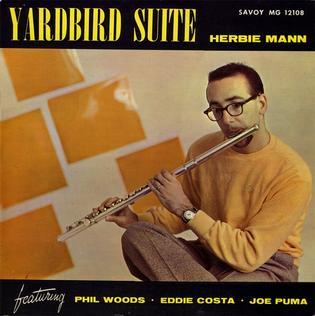 <i>Yardbird Suite</i> (Herbie Mann album) 1957 studio album by Herbie Mann