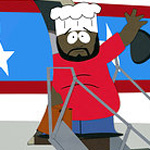 Isaac Hayes was the voice of Chef on South Park from 1997 to 2006 ChefSP.jpg