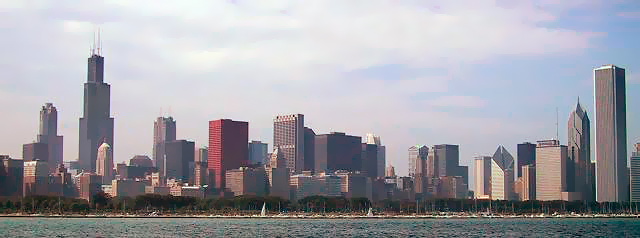 Chicago, Il skyline