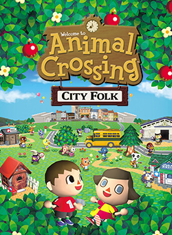 Picture of a game: Animal Crossing: City Folk