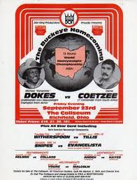 Michael Dokes vs. Gerrie Coetzee Boxing competition