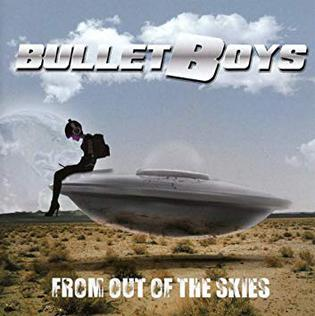 <i>From Out of the Skies</i> 2018 studio album by BulletBoys