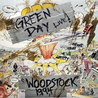 <i>Woodstock 1994</i> (Green Day album) 2019 live album by Green Day