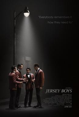 Poster for 2014 musical Jersey Boys