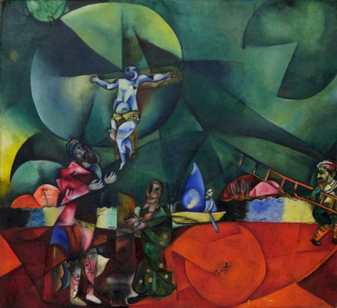 File marc chagall 1912 calvary golgotha christus for Chagall tableau