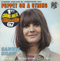 Puppet on a String 1967 Sandie Shaw song