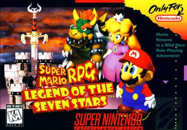Image result for super mario rpg box art