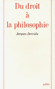 The Right to Philosophy, French edition.jpg