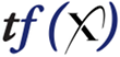 Team FREDNET tf(x) Logo