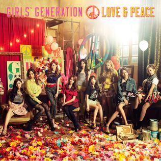 <i>Love & Peace</i> (Girls Generation album) 2013 studio album by Girls Generation