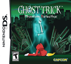 <i>Ghost Trick: Phantom Detective</i> adventure puzzle video game developed by Capcom