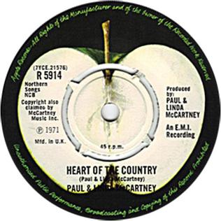 Heart of the Country - Wikipedia