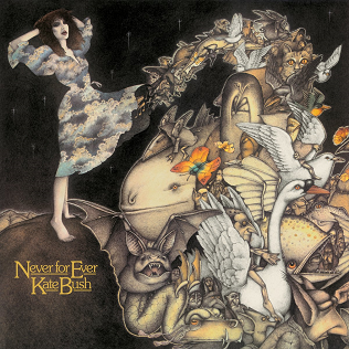 <i>Never for Ever</i> 1980 studio album by Kate Bush