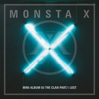 <i>The Clan Pt. 1 Lost</i> 2016 EP by Monsta X