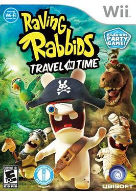 Wii Rayman Raving Rabbids Travel In Time