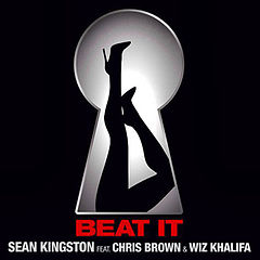 Sean Kingston featuring Chris Brown and Wiz Khalifa — Beat It (studio acapella)
