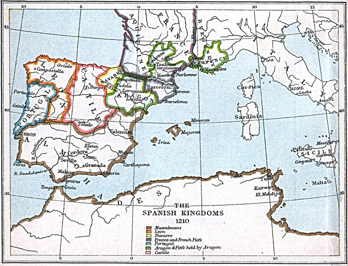 FileSpanish kingdoms 1210jpg  Wikipedia