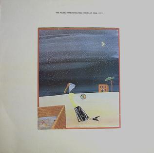 <i>The Music Improvisation Company 1968-1971</i> 1976 studio album by Derek Bailey, Evan Parker, Hugh Davies, Jamie Muir & Christine Jeffrey