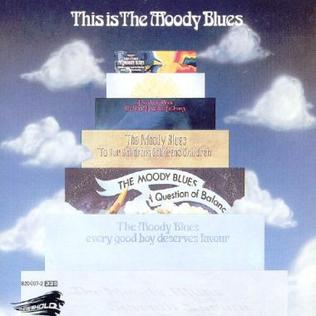 <i>This Is The Moody Blues</i> 1974 compilation album by The Moody Blues